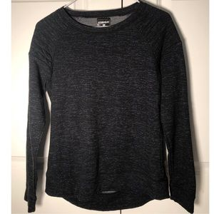 32 Degrees Black Heather L/S Sweater (Small)